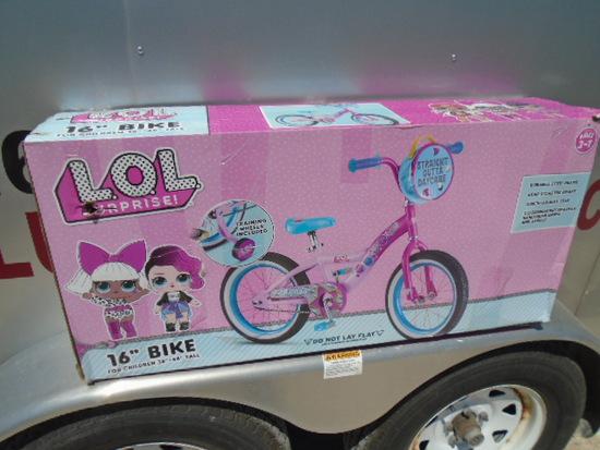 "L.O.L. Surprise 16"" Girls Bike"