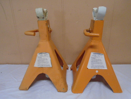 Central Machinery 12 Ton Jack Stand Set