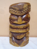 Carved Hawian Tiki Statue