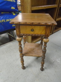 Beautiful Antique Night Stand W/Drawer