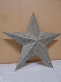 Large Metal Star