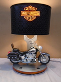 Harley Davidson Motorcycle Table Lamp