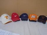 Group of 5 Baseball Caps