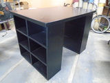 3pc Solid Wood Craft/Sewing Table