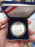 2002 US Mint Military Academy Bicenennial Proof Silver Dollar