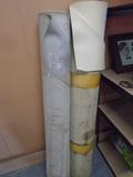 (2) Large Rolls of Upholstery Vinyl