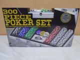 300 Pc. Poker Set in Aluminum Case