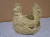 Ceramic Chicken Planter