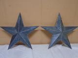 (2) Matching Metal Stars