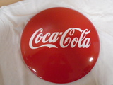 Coca-Cola Metal Button Sign