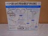Intec 15 in 1 Wii Game Controller Family Pack