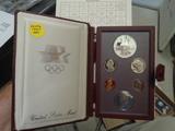 1984 US Mint Olympic Silver Prestige Proof Set