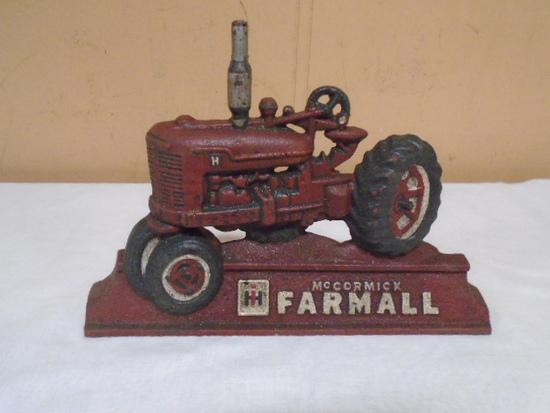 Csst Iron Farmall Doorstop