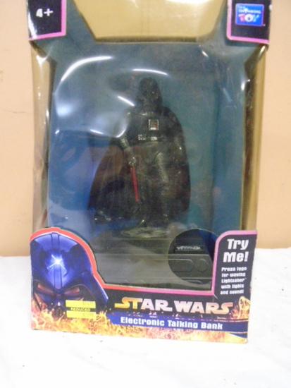 Star Wars Darth Vader Electronic  Talking Bank