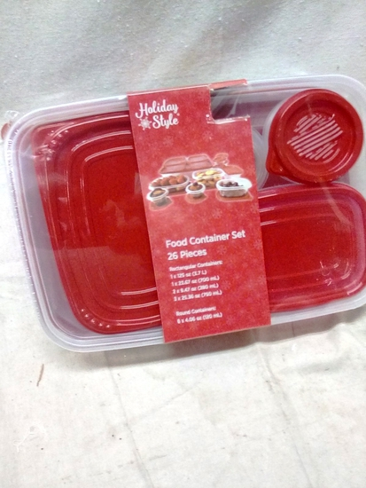 26 piece Food Container Set