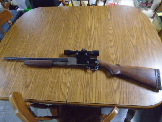 Remington Arms Co 20ga Pump Shotgun w/ Taslo 4x32 Scope