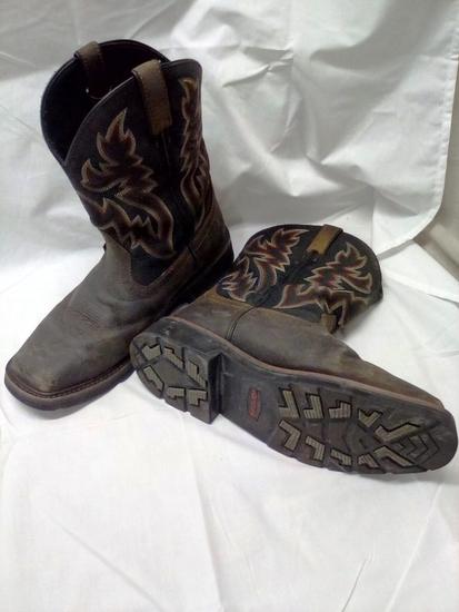 Wolverine Men's Steel Toe Boots size 10EW