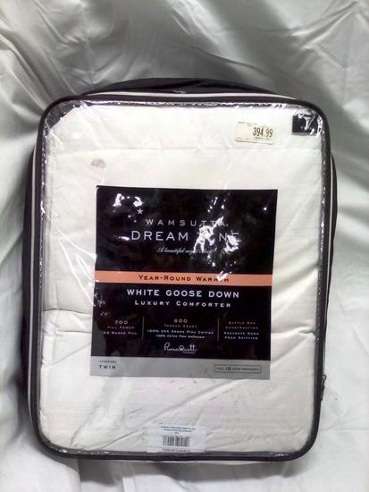 Wamsutta White Goosedown Comforter