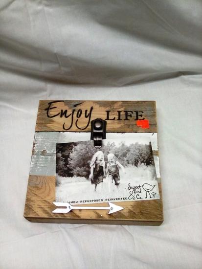 Enjoy Life Picture Hanger