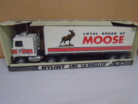 Nylint No. 911-2 Steel GMC Moose Semi