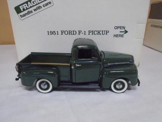 Danbury Mint 1/24 Scale Die Cast 1951 Ford F-1 Pick-Up