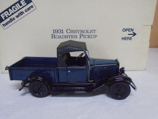 Danbury Mint 1/24 Scale Die Cast 1931 Chevrolet Roadster Pick-Up