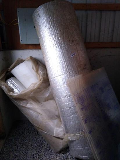 Foil face insulation lot