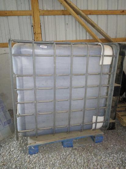 20 + gallons of unmarked liquid fertilizer
