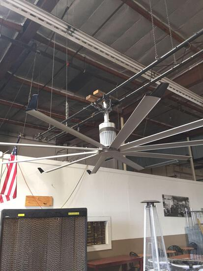 Big Ass fan company 112 in. Aluminum fan