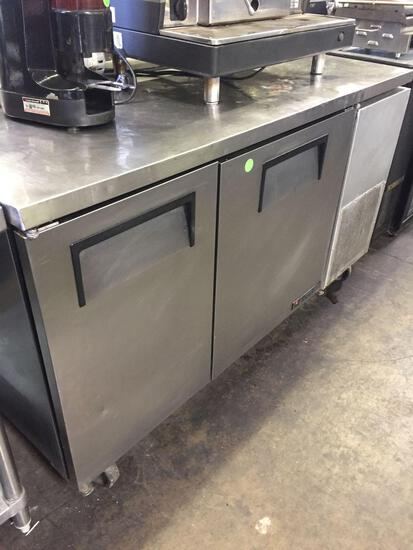 True 60 inch worktop refrigerator