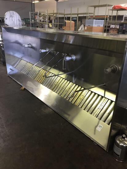 Captive-Aire 12 ft exhaust hood