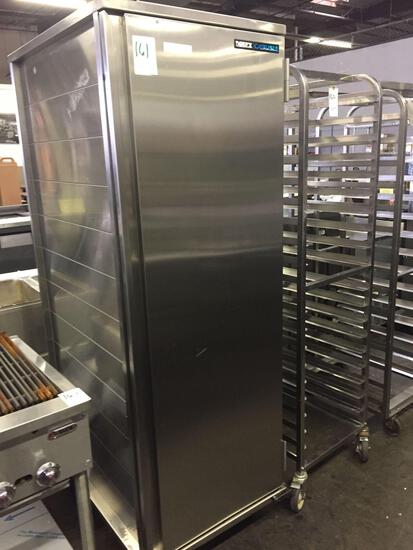 Dinex/Carlisle stainless steel meal tray delivery cabinet
