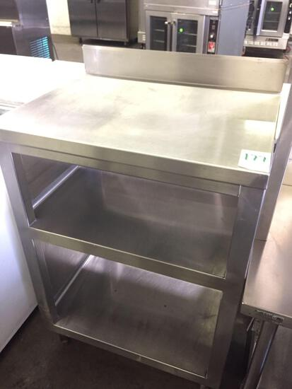 22 x 28 in. All stainless steel cabinet