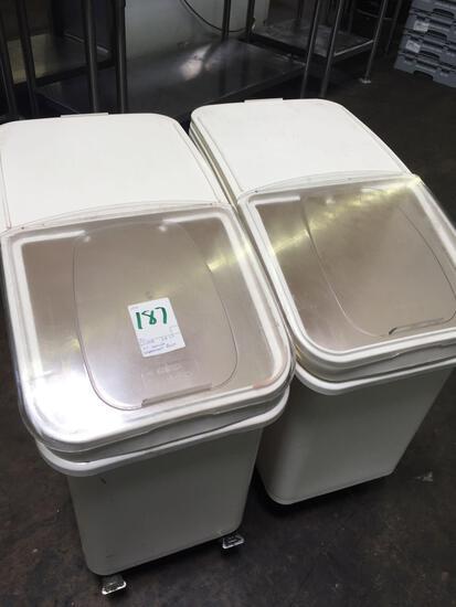 Winco IB27 ingredient bins