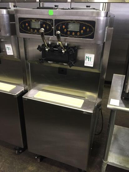 Sumstar double soft serve machine
