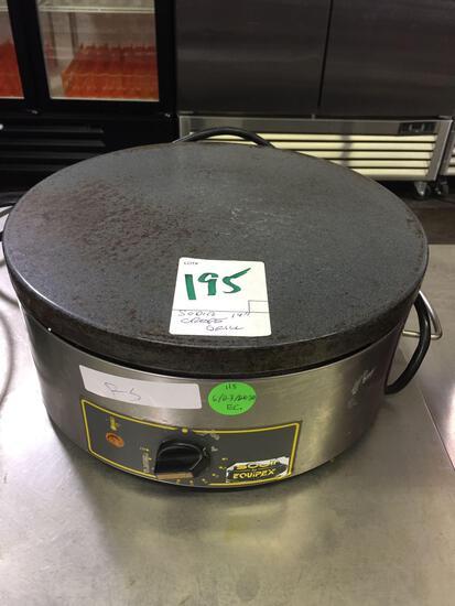 Sodir 14 in. crepe Grill