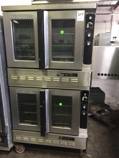 Blodgett double gas convection oven
