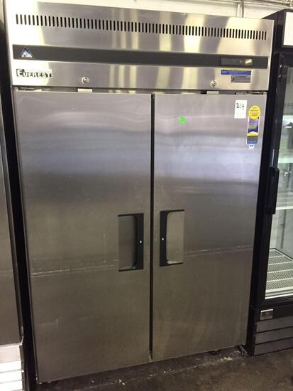 Everest 2 door refrigerator