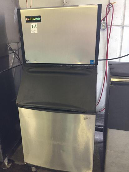 Ice-O-Matic 500 lb. ice machine W/Bin
