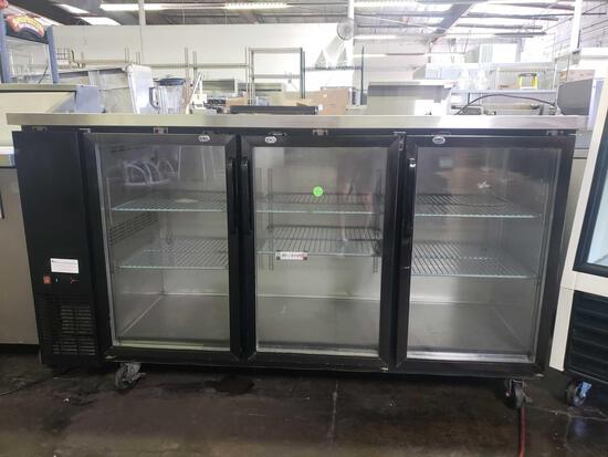 Avantco 72 in. Refrigerated Back Bar