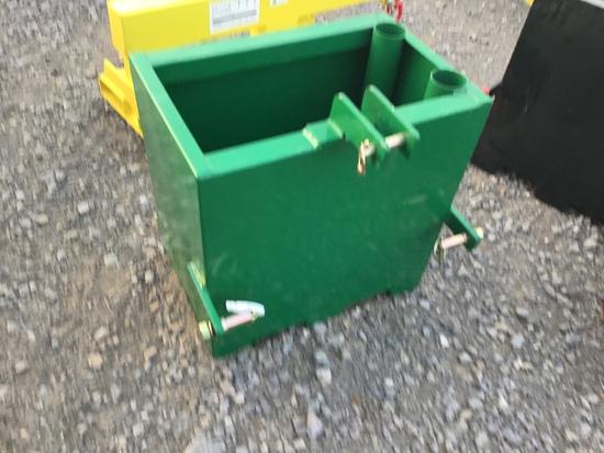 NEW GREEN WEIGHT BOX