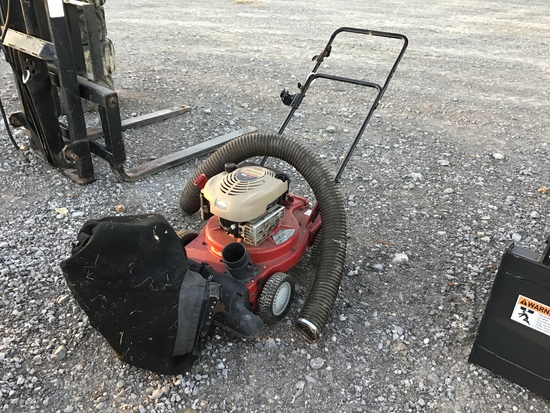 CRAFTSMAN PUSH MOWER W/ BAGGER