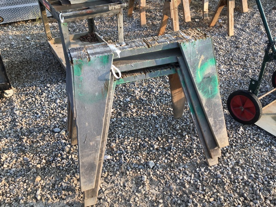 (3) SMALL SAW HORSES - ALL ONE PRICE