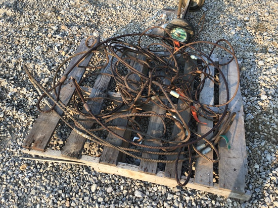 PALLET OF CHOKER CABLES - ALL ONE PRICE