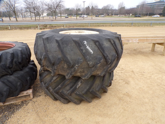 USED BF GOODRICH 23.1-26 TIRES ON RIMS