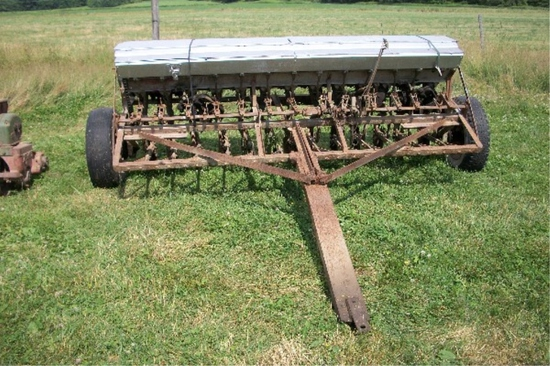 McCormick Grain Drill w/seed boxes