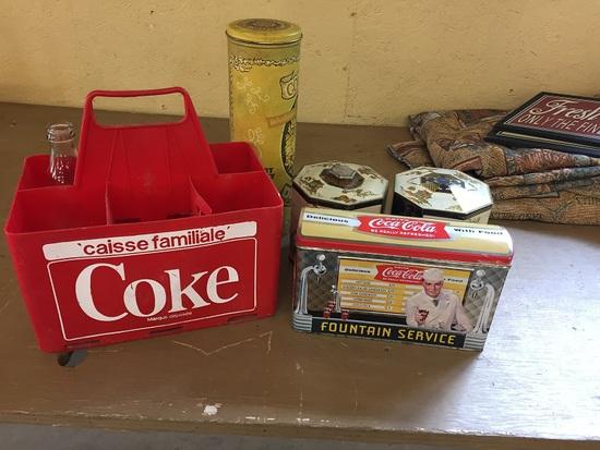 COKE ADVERTISIG, ETC
