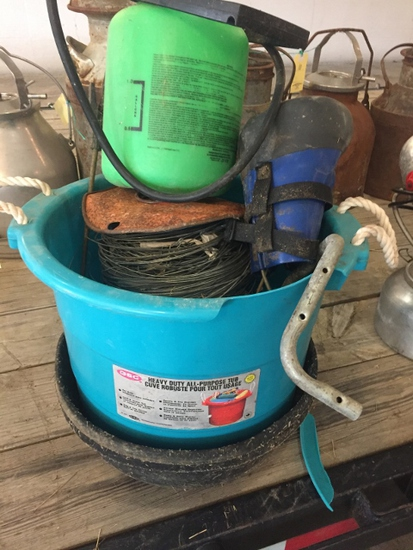 FEED TUBS, WIRE, ETC