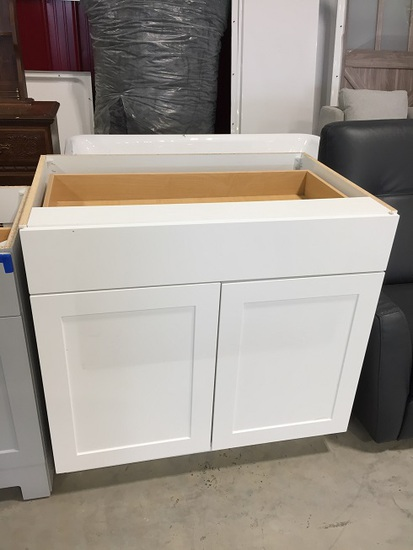 36'' BASE CABINET WITH DRAWER AND 2 DOORS