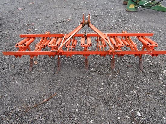 Orange 3pt Cultivater 9 Shank